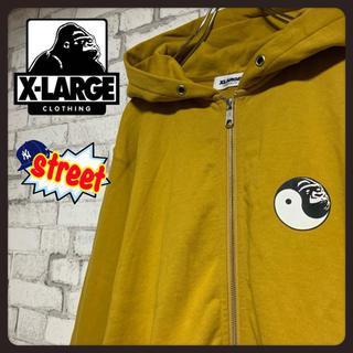エクストララージ(XLARGE)の【激レア】X-LARGE エクストララージ/パーカー フルジップ 陰陽 入手困難(パーカー)