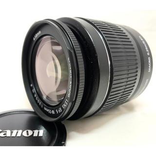キヤノン(Canon)の美品☆CANON EF-S 18-55mm F3.5-5.6 IS Ⅱ(レンズ(ズーム))