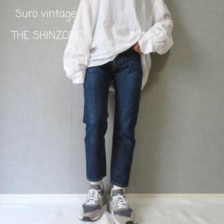 シンゾーン(Shinzone)のTHE SHINZONE シンゾーン テーパードデニム 古着女子(デニム/ジーンズ)