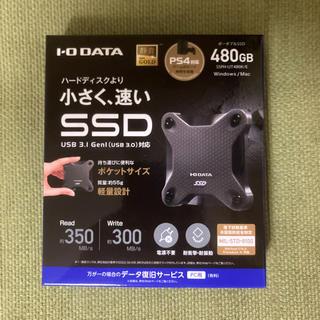 アイオーデータ(IODATA)のI-O DATA SSD 480GB PS4対応 SSPH-UT480K/E(PC周辺機器)