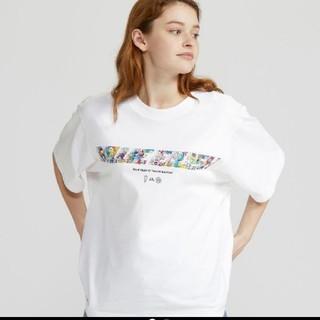 ユニクロ(UNIQLO)のUNIQLO BillieEilish ビリーアイリッシュ ビリー 村上隆 XS(Tシャツ(半袖/袖なし))