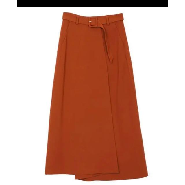 Ameri VINTAGE(アメリヴィンテージ)のアメリヴィンテージ バックプリーツスカート レディースのスカート(ひざ丈スカート)の商品写真