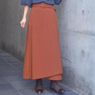 アメリヴィンテージ(Ameri VINTAGE)のアメリヴィンテージ バックプリーツスカート(ひざ丈スカート)