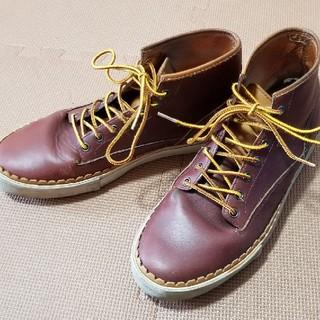 ディーゼル(DIESEL)の廃盤■DIESEL ディーゼル■ブーツ 赤 茶  27.5 メンズ(ブーツ)