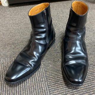 REGAL - リーガル サイドジップブーツ ブラック