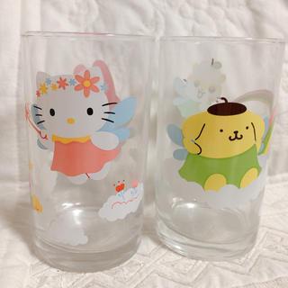 サンリオ(サンリオ)の【新品】サンリオ ⭐️ グラスセット(グラス/カップ)