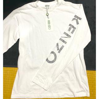 ケンゾー(KENZO)のロゴスウェットTシャツ(Tシャツ/カットソー(七分/長袖))