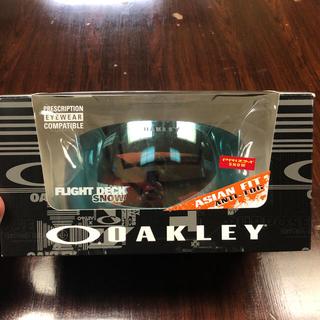 オークリー(Oakley)のOAKLEY オークリー フライトデッキ スノー ゴーグル(アクセサリー)