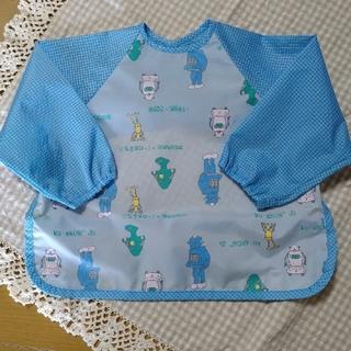 コンビミニ(Combi mini)のcombi mini ポケット付きエプロン(お食事エプロン)