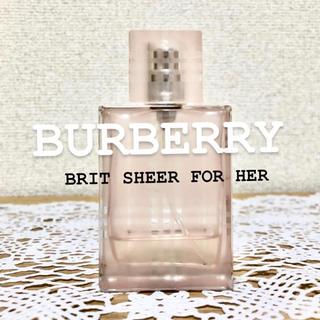 バーバリー(BURBERRY)のバーバリー*ブリットシアーフォーハー(香水(女性用))