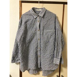マウジー(moussy)のチェックシャツ(シャツ/ブラウス(長袖/七分))