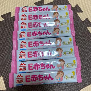 モリナガニュウギョウ(森永乳業)の森永 E赤ちゃん 粉ミルク 100 ml(乳液/ミルク)