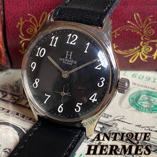 エルメス(Hermes)の【OH済・一目惚れ】エルメス ★ HERMES PARIS ビンテージ 腕時計(腕時計(アナログ))