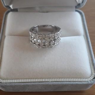ダイヤモンド リング Pt900 2.00ct 10号 11g(リング(指輪))