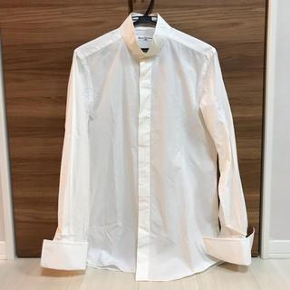 ユナイテッドアローズ(UNITED ARROWS)のユナイテッドアローズ ウイングカラーシャツ 白 結婚式 二次会向け(シャツ)