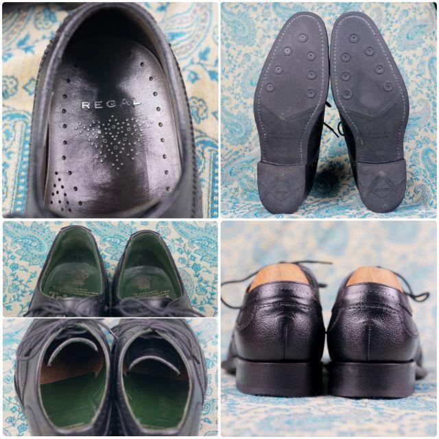 REGAL(リーガル)のREGAL リーガル ウイングチップ 高品質 日本製 美品 メンズの靴/シューズ(ドレス/ビジネス)の商品写真