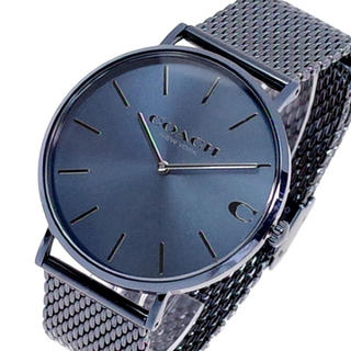 コーチ(COACH)のコーチ COACH 腕時計 メンズ 14602146 クォーツ ネイビーブルー(腕時計(アナログ))