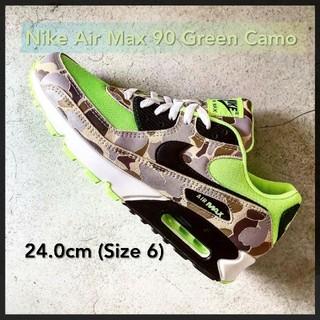 """ナイキ(NIKE)のNIKE AIR MAX 90 """"DUCK CAMO"""" GHOST 24.0(スニーカー)"""