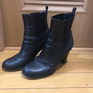 アクアガール(aquagirl)のアクアガール ショートブーツ リアルレザー サイドゴアブーツ(ブーツ)