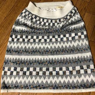 ローズバッド(ROSE BUD)のROSEBUD スカート F size(ひざ丈スカート)