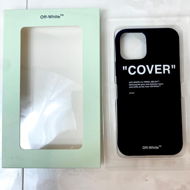 OFF-WHITE(オフホワイト)のオフホワイト iphoneケース オフホワイト iphone11pro スマホ/家電/カメラのスマホアクセサリー(iPhoneケース)の商品写真