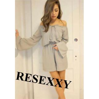 リゼクシー(RESEXXY)のRESEXXY♡オフショルコンビネゾン(オールインワン)