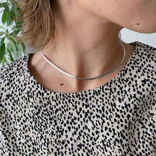 ミスティック(mystic)のLink silver925 snake chain neckless(ネックレス)