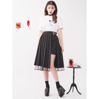 イートミー(EATME)の【新品】EATME プリーツラップスカート(ひざ丈スカート)