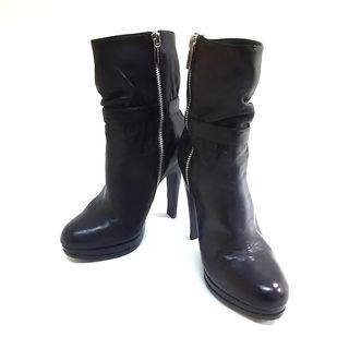 マイケルコース(Michael Kors)のマイケルコース ショートブーツ 6 1/2 黒(ブーツ)