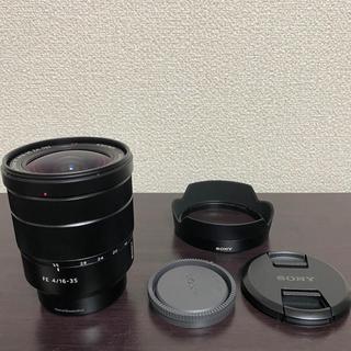 SONY - Zeiss SEL1635ZA OSS F4 SONY 純正レンズプロテクター付