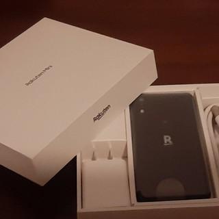アンドロイド(ANDROID)の新品 RAKUTEN mini 楽天モバイル ミニ スマホ ナイトブラック(スマートフォン本体)