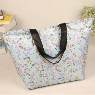 ダッフィー(ダッフィー)の日本未発売 ダッフィーステラルー  折り畳みエコバッグ お買い物袋 トートバッグ(エコバッグ)