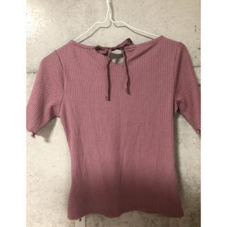 ミーア(MIIA)の半袖 トップス MIIA お値下げ中(Tシャツ(半袖/袖なし))