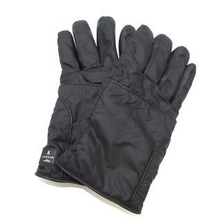 ランバンオンブルー(LANVIN en Bleu)のランバンオンブルー 手袋 レディース 黒(手袋)