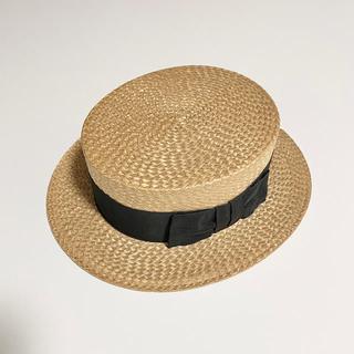 ヘレンカミンスキー(HELEN KAMINSKI)のvintage|カンカン帽|麦わら帽子(麦わら帽子/ストローハット)