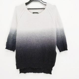 ディーゼル(DIESEL)のディーゼル 七分袖セーター サイズXS -(ニット/セーター)