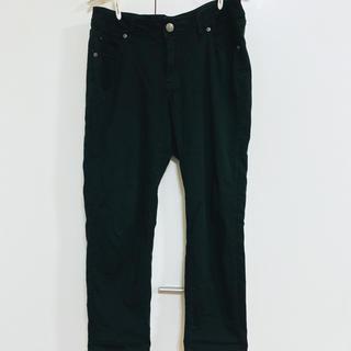 しまむら - しまむら CLOSSHI ブラック パンツ 黒 大きいサイズ 76