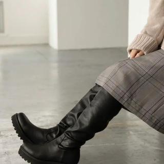 ローリーズファーム(LOWRYS FARM)のストレッチロングブーツ(ブーツ)