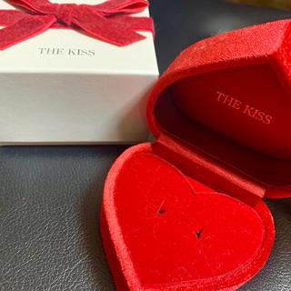 ザキッス(THE KISS)の【THE KISS】2017年クリスマス限定 ハートボックス 赤(その他)