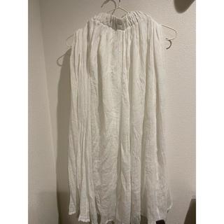 オリーブデオリーブ(OLIVEdesOLIVE)のロングスカート オリーブデオリーブ ホワイト(ロングスカート)