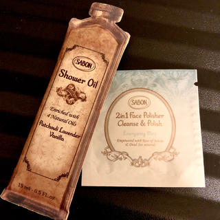 サボン(SABON)のザボン SABON  試供品 フェイスポリッシャー シャワーオイル(洗顔料)