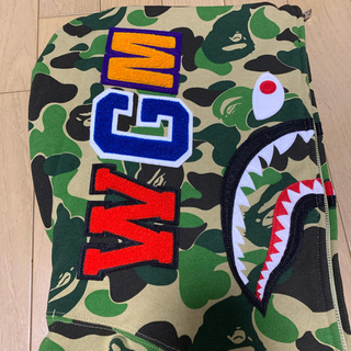 A BATHING APE - A BATHING APE シャーク パーカー Lサイズ