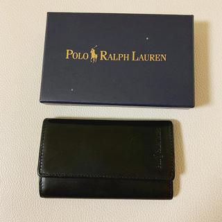 ポロラルフローレン(POLO RALPH LAUREN)のPOLO Ralph Lauren ポロラルフローレン 黒 ブラック キーケース(キーケース)