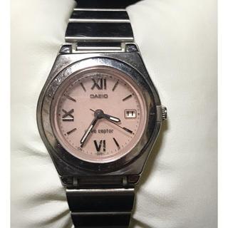 カシオ レディース タフソーラー電波腕時計