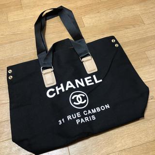 シャネル(CHANEL)のCHANELシャネルノベルティトートバッグ♡(トートバッグ)