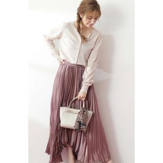 プロポーションボディドレッシング(PROPORTION BODY DRESSING)のproportion body dressing シャイニープリーツスカート(ロングスカート)