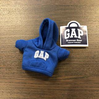 ギャップ(GAP)の店舗限定!a【新品】GAP ガチャ ガチャガチャ ブラナンベア パーカー ブルー(キャラクターグッズ)