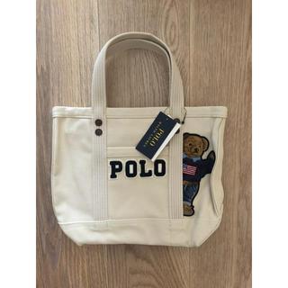 POLO RALPH LAUREN - 【新品未使用】ポロ ラルフローレン ポロベア  キャンバストートバッグ