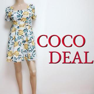 COCO DEAL - もて服♪ココディール きれいめフラワー フレアワンピース♡スナイデル リリディア