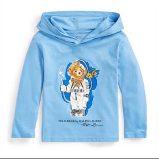 Ralph Lauren - 新品 ラルフ ダイビング ベア コットン フーデッド 長袖 Tシャツ 3T